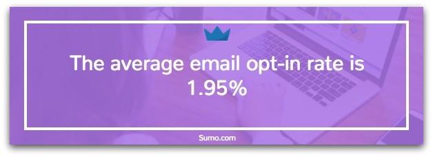 Exit intent popups para captura de email