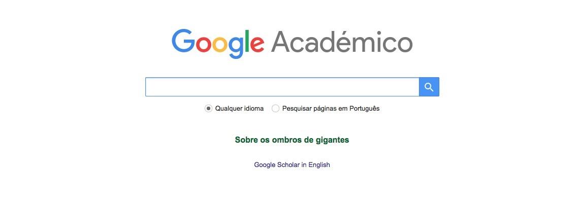 o que é o google acadêmico