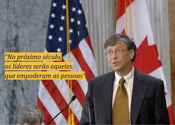 Frases motivacionais para o trabalho: Bill Gates