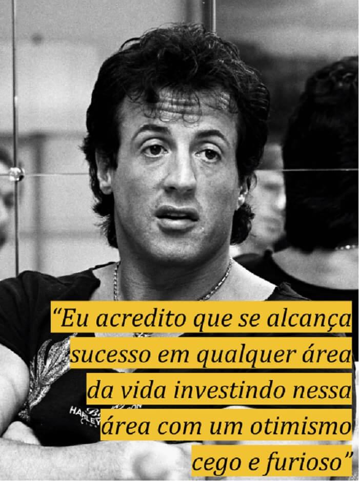 Frases motivacionais sobre sucesso: Sylvester Stallone