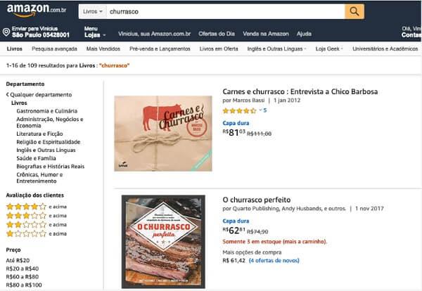 Nichos de mercado: livros na Amazon