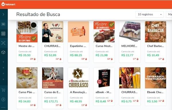Nichos de mercado: plataforma de vendas Hotmart